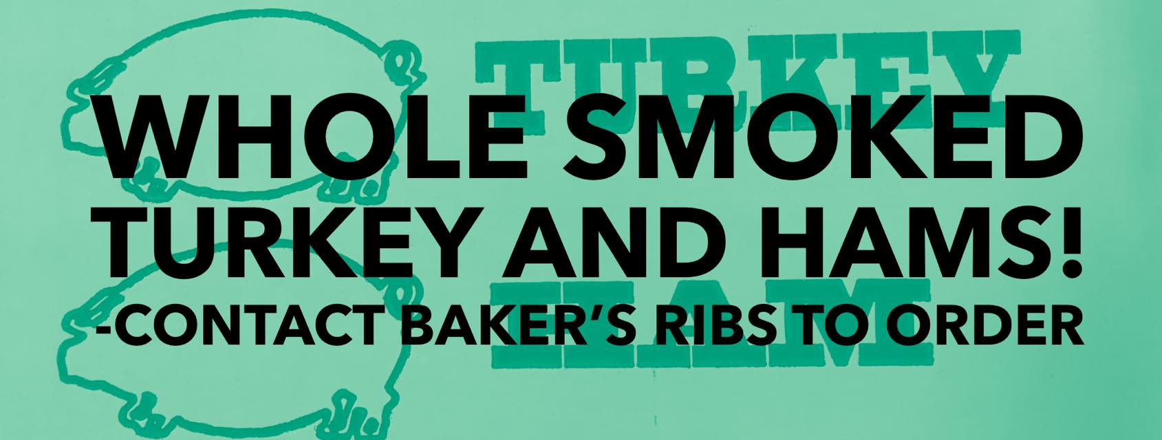 Baker's Ribs caters